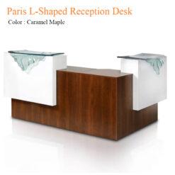 Paris L-Shaped Reception Desk – 69 inches