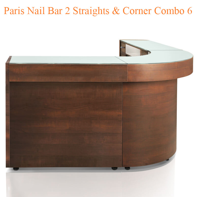 Paris Nail Bar 2 Straights & Corner Combo 6