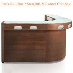 Paris Nail Bar 2 Straights & Corner Combo 6