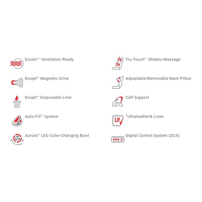 Ghế Làm Chân Cao Cấp Prestige Dùng Jet Nam Châm Và Hệ Thống Mát-Xa Tru-Touch Shiastu