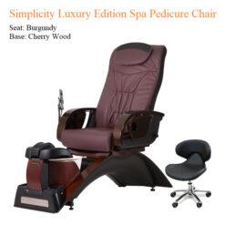 Simplicity Luxury Edition Spa Pedicure Chair – No Plumbing