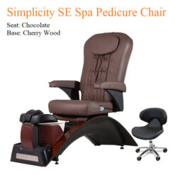 Simplicity SE Luxury Spa Pedicure Chair with Magnetic Jet – Vibra-Heat Massage System