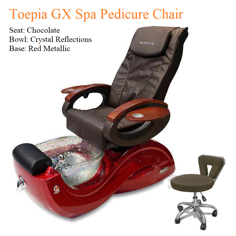 Toepia GX Luxury Spa Pedicure Chair – High Quality with American-Made