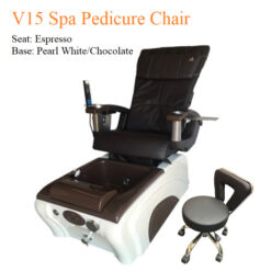 V15 Spa Pedicure Chair with Magnetic Jet – Human Touch Massage System