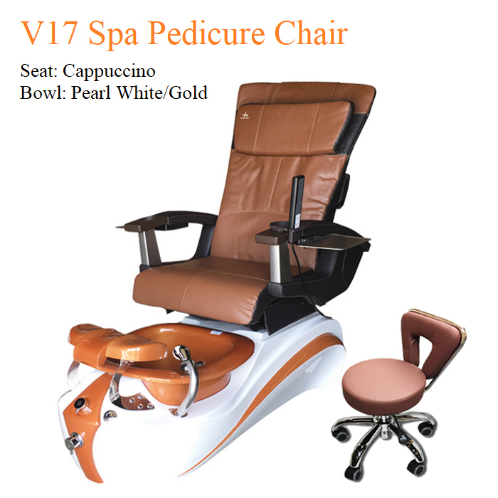 V17 Spa Pedicure Chair with Magnetic Jet – Human Touch Massage System