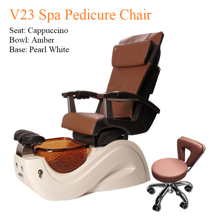 V23 Spa Pedicure Chair with Magnetic Jet – Human Touch Massage System