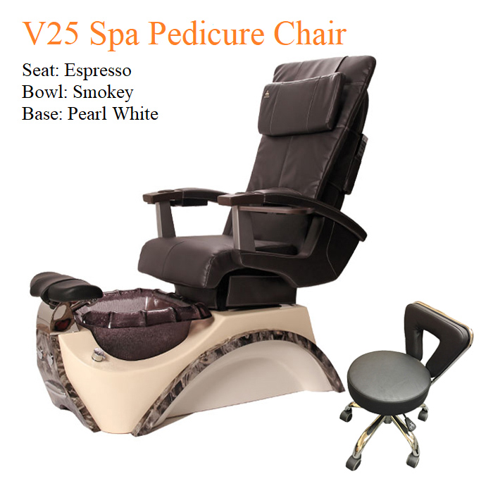 V25 Spa Pedicure Chair with Magnetic Jet – Human Touch Massage System