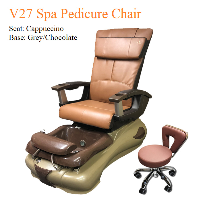 V27 Spa Pedicure Chair with Magnetic Jet – Human Touch Massage System
