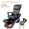 V29 Spa Pedicure Chair with Magnetic Jet – Human Touch Massage System