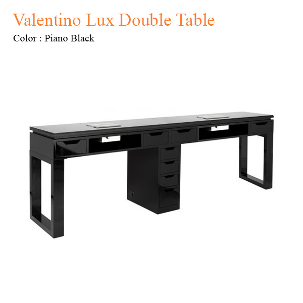 Valentino Lux Double Table – 80 inches