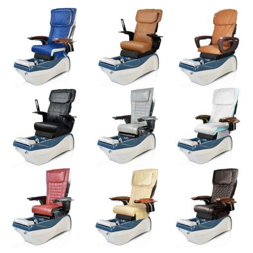 Ghế Làm Chân Waverly Với Hệ Thống Mát-Xa Human-Touch Và Jet Nam Châm