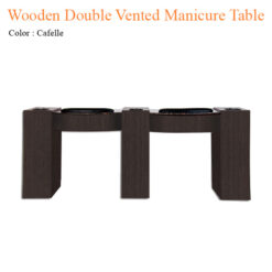 Wooden Double Vented Manicure Table with Fan 74 inches 0 247x247 - Equipment nail salon furniture manicure pedicure