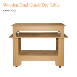 Wooden Dual Quick Dry Table 47 inches 247x247 - Thiết bị đồ nội thất tiệm nail làm móng tay móng chân