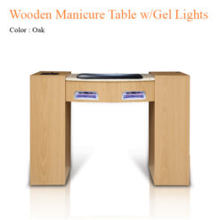Wooden Manicure Table with Gel Lights Fan 42 inches 0 247x247 - Equipment nail salon furniture manicure pedicure