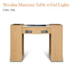Wooden Manicure Table with Gel Lights Fan 42 inches 247x247 - Equipment nail salon furniture manicure pedicure