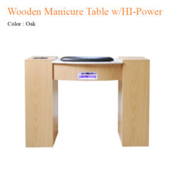 Wooden Manicure Table with HI Power LED Light Fan 42 inches 0 247x247 - Thiết bị đồ nội thất tiệm nail làm móng tay móng chân