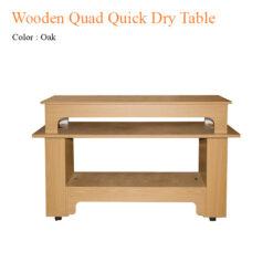 Wooden Quad Quick Dry Table 58 inches 247x247 - Equipment nail salon furniture manicure pedicure