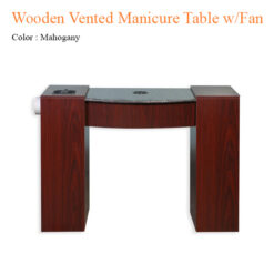 Wooden Vented Manicure Table with Fan 42 inches 247x247 - Equipment nail salon furniture manicure pedicure
