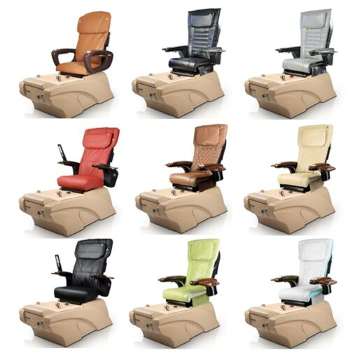 Yuna Spa Pedicure Chair with Magnetic Jet – Human Touch Massage System