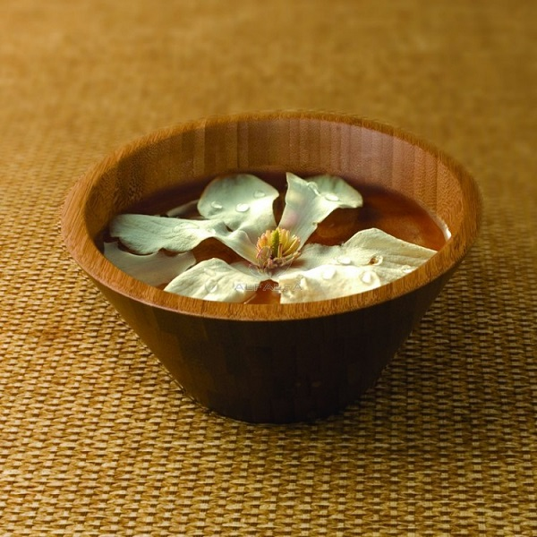 Botanical Escapes Bamboo Spa – Manicure Bowl