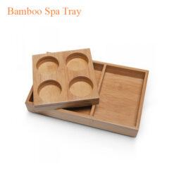 Botanical Escapes Herbal Spa Pedicure – Bamboo Spa Tray