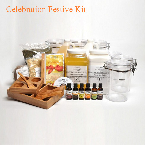 Botanical Escapes Herbal Spa Pedicure – Celebration Festive Kit