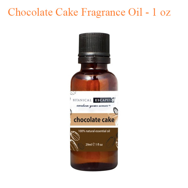 Botanical Escapes Herbal Spa Pedicure – Chocolate Cake Fragrance Oil – 1 oz