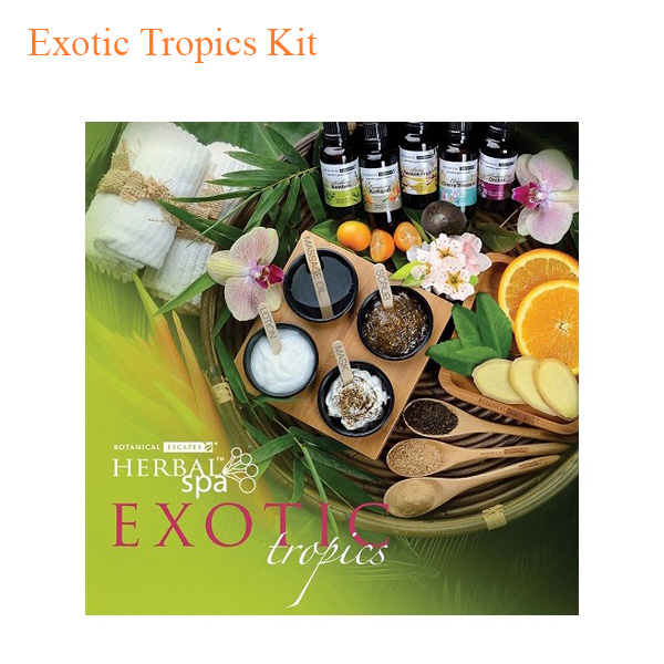 Botanical Escapes Herbal Spa Pedicure – Exotic Tropics Kit