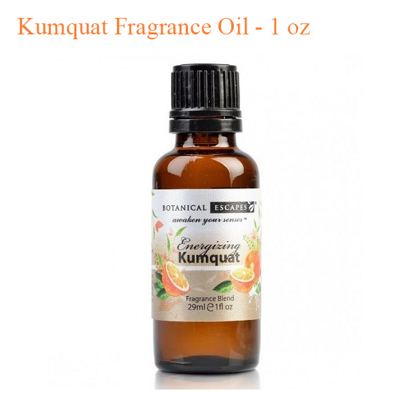 Botanical Escapes Herbal Spa Pedicure – Exotic Tropics – Kumquat Fragrance Oil – 1 oz