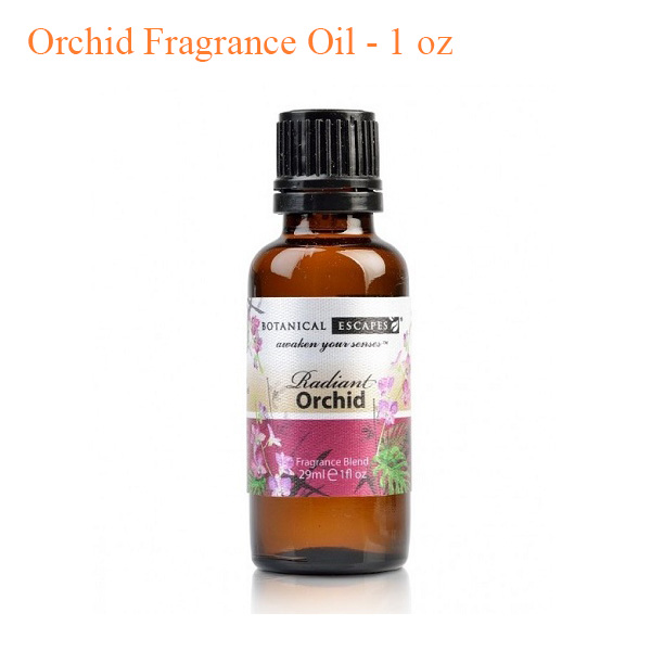 Botanical Escapes Herbal Spa Pedicure – Exotic Tropics – Orchid Fragrance Oil – 1 oz