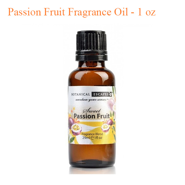 Botanical Escapes Herbal Spa Pedicure – Exotic Tropics – Passion Fruit Fragrance Oil – 1 oz
