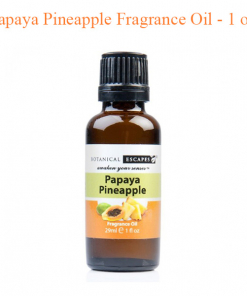 Botanical Escapes Herbal Spa Pedicure – Fruity – Tea Collection – Papaya Pineapple Fragrance Oil – 1 oz