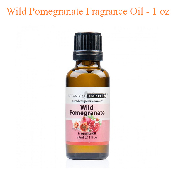 Botanical Escapes Herbal Spa Pedicure – Wild Pomegranate Fragrance Oil
