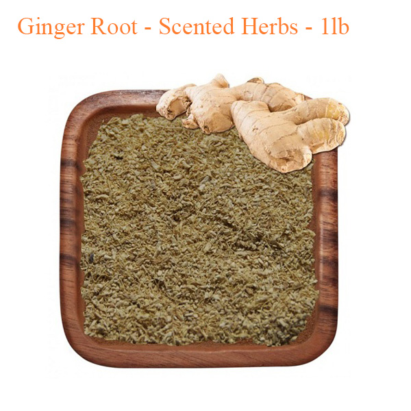 Botanical Escapes Herbal Spa Pedicure – Ginger Root – Scented Herbs – 1 lb