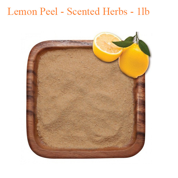 Botanical Escapes Herbal Spa Pedicure – Lemon Peel – Scented Herbs – 1lb