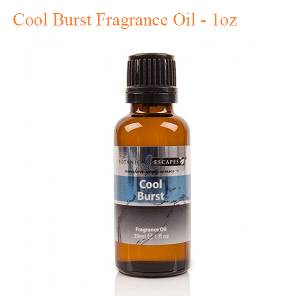 Botanical Escapes Herbal Spa Pedicure – Men's Collection – Cool Burst Fragrance Oil – 1oz