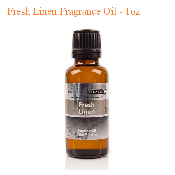 Botanical Escapes Herbal Spa Pedicure Mens Collection Fresh Linen Fragrance Oil 1oz - Top Selling
