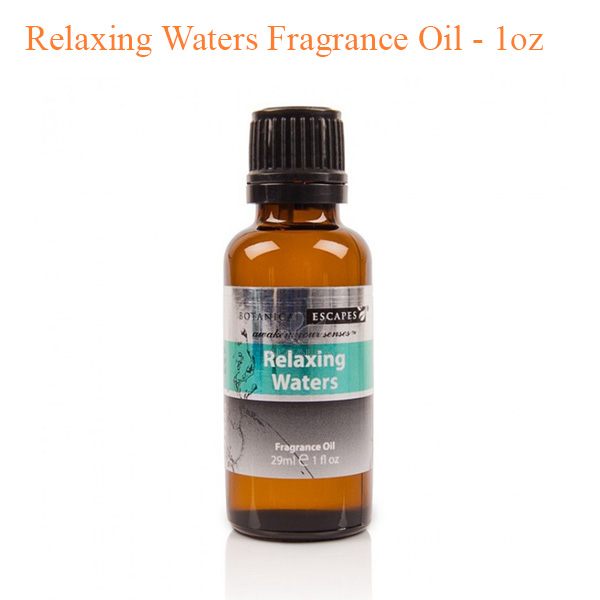 Botanical Escapes Herbal Spa Pedicure – Men's Collection – Relaxing Waters Fragrance Oil – 1oz