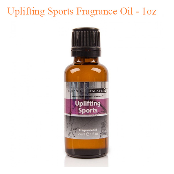 Botanical Escapes Herbal Spa Pedicure – Men's Collection – Uplifting Sports Fragrance Oil – 1oz