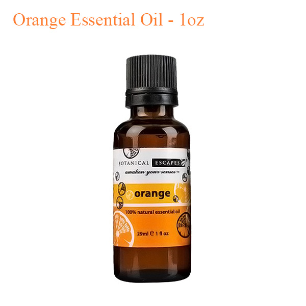 Botanical Escapes Herbal Spa Pedicure – Orange Essential Oil – 1oz