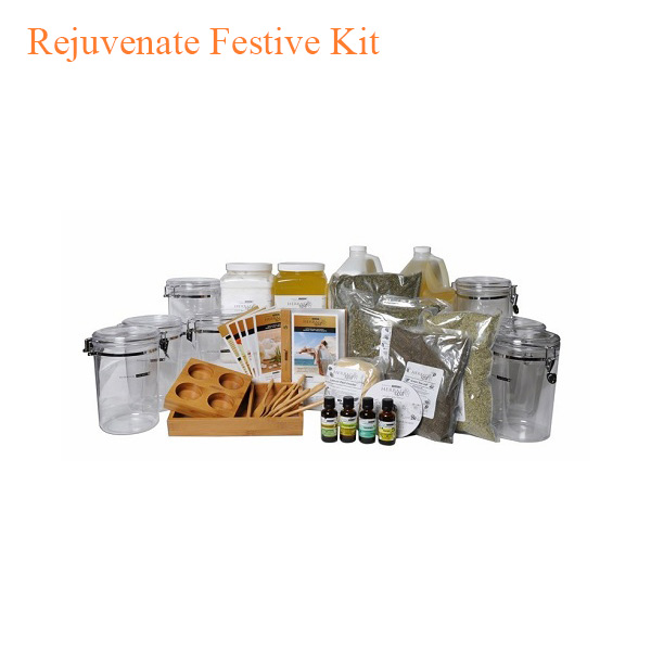 Botanical Escapes Herbal Spa Pedicure – Rejuvenate Festive Kit