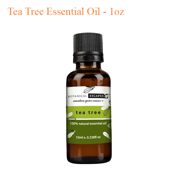Botanical Escapes Herbal Spa Pedicure – Tea Tree Essential Oil – 1oz