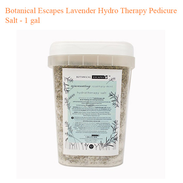 Botanical Escapes Lavender Hydro Therapy Pedicure Salt – 1 gal