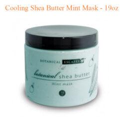 Cooling Shea Butter Mint Mask – 19oz