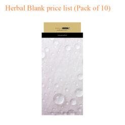 Herbal Blank price list (Pack of 10)