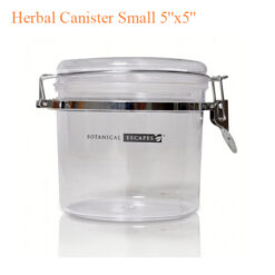 """Herbal Canister Small 5""""x5"""""""