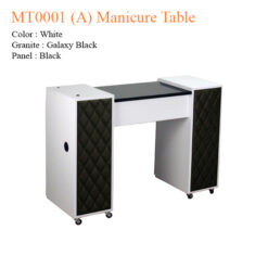 MT0001 (A) Manicure Table – 42 inches
