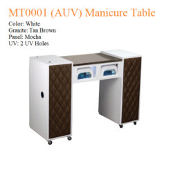 MT0001 AUV Manicure Table – 42 inches 3a 247x247 - Equipment nail salon furniture manicure pedicure