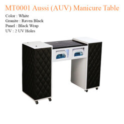 MT0001 Aussi (AUV) Manicure Table – 42 inches