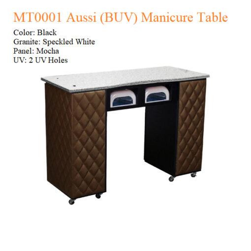 MT0001 Aussi (BUV) Manicure Table – 42 inches